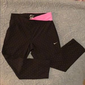 Nike Dri-fit running tights. Size small.